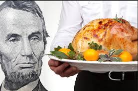 thanksgiving dinner at parish at sacred of