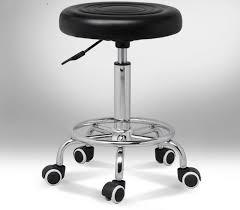chaise de bureau ronde ronde chaise pivotante de levage réglable hauteur rotatif chaise