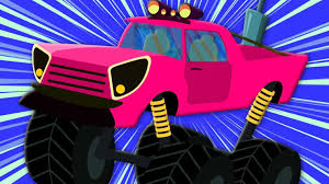 monster trucks for kids blaze and the machines toys nickelodeon cartoon show new monster truck