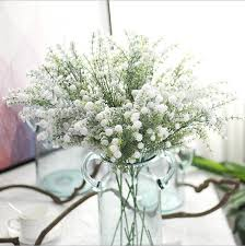 baby s breath flowers artificial flowers for christmas decoration white babys breath