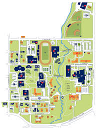 Washington University Campus Map by Stoffer Family Stadium George Fox University