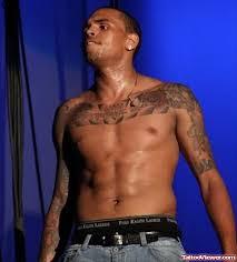 chris brown chest tattoos viewer com