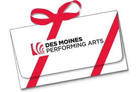 gift certificates gift certificates des moines performing arts