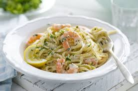 healthy living citrus prawn pasta tesco real food