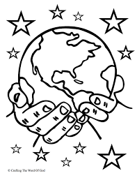 baker heights church of christ for creation coloring page