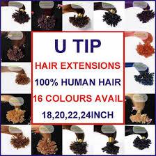 Hair Extensions U Tip by 200 Strands 0 5 0 6 0 7 Gram Pre Bonded Nail U Tip Real Remy Human
