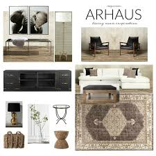arhaus living room design board crazy wonderful