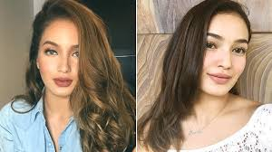 sarah lahbati ditches her blonde hair for a rich brown hue cosmo ph