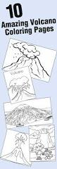top 10 free printable volcano coloring pages online volcano