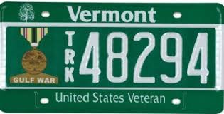 Dmv Vanity Plate Military License Plates Department Of Motor Vehicles