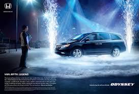 honda odyssey cars and motorcycles pinterest honda odyssey honda print advert by rpa rock van ads of the world