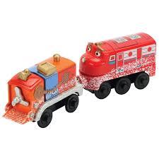 amazon chuggington wooden railway snow struck wilson toys