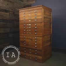 blueprint flat file cabinet vintage industrial 16 drawer modular flat file blueprint cabinet
