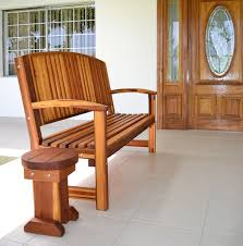 Wooden Bench And Table Redwood Bench With Contoured Seating Forever Redwood