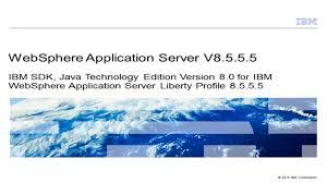 ibm sdk java technology edition version 8 0 for ibm websphere