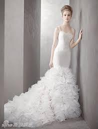 vera wang robe de mari e vera wang sweetheart mermaid wedding dress