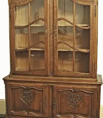 Break Front Cabinet French Louis Xv Country French Oak Breakfront Bookcase China