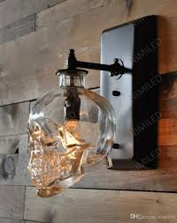 Wall Lights Online Nimi602 Loft Personality Industrial Iron Glass Retro Bar Outdoor