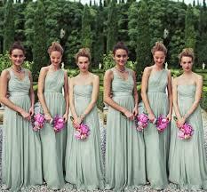 bill levkoff bridesmaid dresses matching 3 styles mint chiffon bridesmaid dresses one