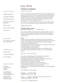 Download Work Experience Resume Haadyaooverbayresort Com by Download Solution Architect Resume Haadyaooverbayresort Com