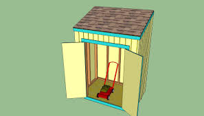How To Build A Freestanding Patio Roof by How To Build A Lean To Shed Howtospecialist How To Build Step