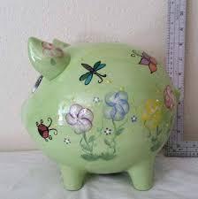 personalised piggy bank large piggy bank javi333