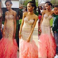 20 amazing prom dresses u0026 hairstyles for black girls 2016