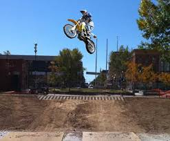 motocross track installed at park central square fair city news