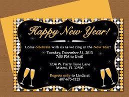 happy new year invitation happy new year invitation editable template microsoft word