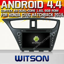 honda civic change frequency china witson android 4 4 system car dvd for honda civic hatchback