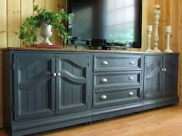 painting kitchen cabinets with annie sloan image of tv console using base kitchen cabinets tv cabinet