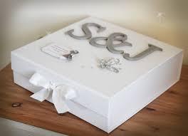 keepsake box personalised wedding keepsake box