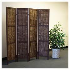 Photo Room Divider Saigon Room Divider Screen 4 Panel Proman Products Target