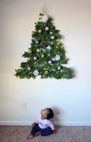 lighted christmas tree garland fancy idea lighted christmas tree wall hanging 6 chritsmas decor