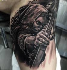 Tattoos On Biceps For - what is a design of bow on biceps quora