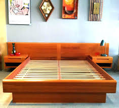Platform Bed Ideas Home Improvement Platform Bed Frame With Headboard Best Low