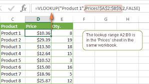 Exles Of Sheets excel vlookup tutorial for beginners formula exles