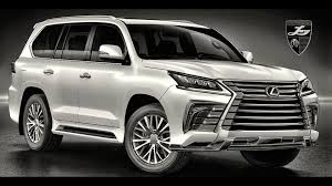 lexus truck lx lexus lx gets an aggressive new styling package