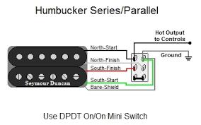 humbucker series parallel