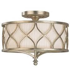 gold flush mount light c9172wg fifth avenue down light pendant light winter gold at