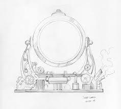 stungeon studios steampunk sketch