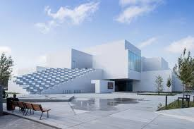 the lego house vast exhibition spaces and public squares that