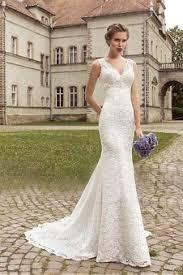 robe sirene mariage robe de mariée avec manche de luxe traine naturel style sirène de
