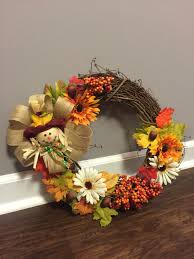 Pinterest Dollar Tree Crafts by Fall Wreath Dollar Tree Decor Less Than 20 Scarecrow Wreath Fall