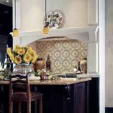 Kitchen Wall Tile Patterns Star Pattern Tiles Durango Travertine Accents Kitchen Bath Home