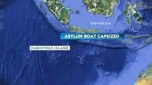 asylum seeker boat capsizes north of christmas island daily
