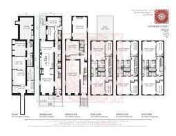 House For Plans Massive Heights Brownstone With Magnificent Details Wine Cellar