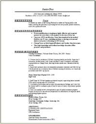 Sample Comprehensive Resume For Nurses Examples Of Registered Nurse Resumes How To Write A Quality
