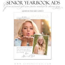 senior yearbook ad templates ashe design senior yearbook ad photoshop templates your