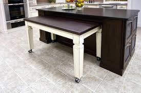 kitchen island with pull out table kitchen island with pull out table rroom me